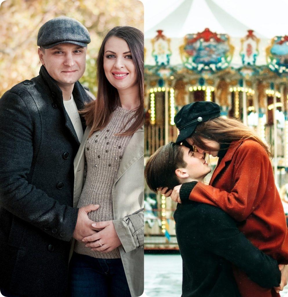 Фото Светланы Романовой До и После.